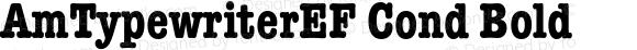 AmTypewriterEF Cond Bold 001.001