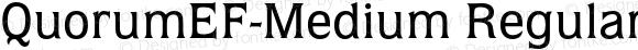 QuorumEF-Medium Regular 001.001