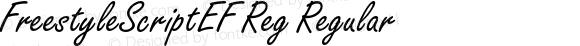FreestyleScriptEF Reg Regular 001.000