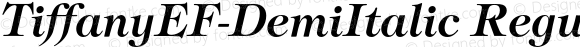 TiffanyEF-DemiItalic Regular 001.001