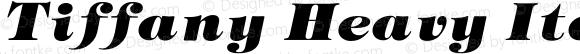 Tiffany Heavy Italic 001.000
