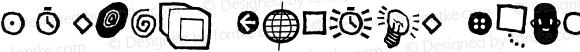 Kosmik Glyphs Regular 001.000