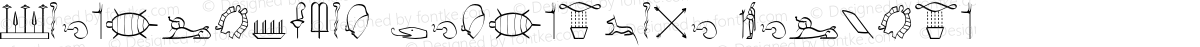 Hieroglyphic Decorative Regular