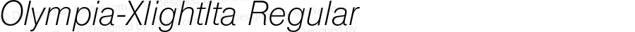 Olympia-XlightIta Regular 001.001