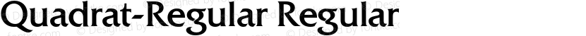 Quadrat-Regular Regular Preview Image