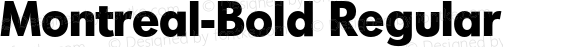 Montreal-Bold Regular 001.001