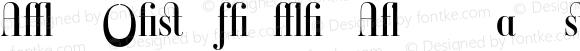 Ambroise Firmin Alternates Regular 001.000