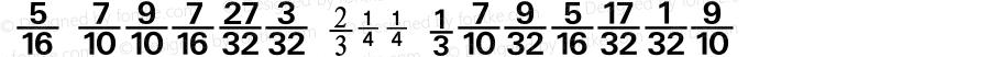 Numerics P11 Regular 001.001