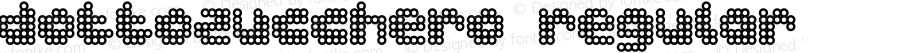 dottozucchero Regular Macromedia Fontographer 4.1.5 25.04.2001