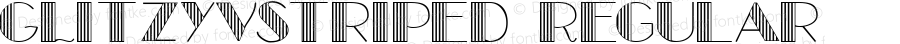 GLitzyVStriped Regular Macromedia Fontographer 4.1.3 5/25/99