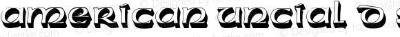 American Uncial D Sh1 Regular 001.005