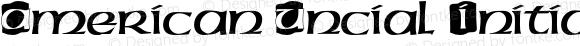 American Uncial Initials D Regular 001.005