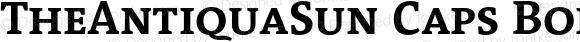TheAntiquaSun Caps Bold 001.001