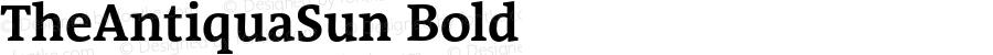 TheAntiquaSun Bold 001.001
