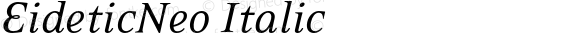 EideticNeo Italic 001.000
