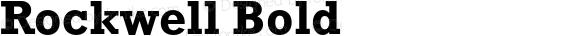 Rockwell Bold 001.000