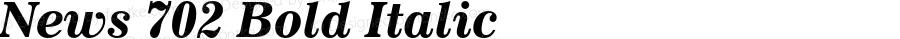 News 702 Bold Italic 003.001