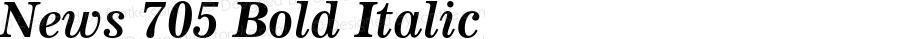 News 705 Bold Italic 003.001