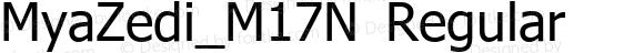 MyaZedi_M17N