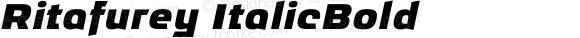 Ritafurey ItalicBold