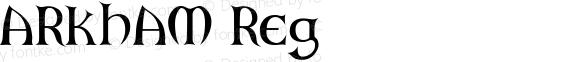 ARKHAM Reg Macromedia Fontographer 4.1.5 23/5/98