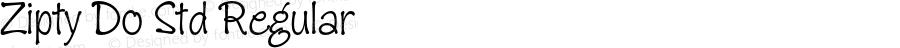 Zipty Do Std Regular Version 2.025;PS 002.000;hotconv 1.0.50;makeotf.lib2.0.16970