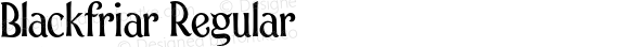 Blackfriar Regular 001.000