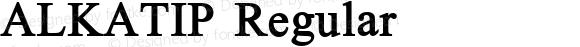 ALKATIP Regular Version 5.00 November 4, 2007
