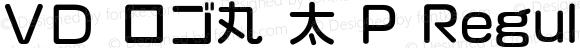 VD ロゴ丸 太 P Regular 2.00
