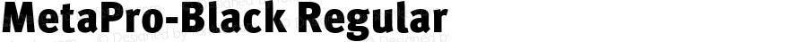 MetaPro-Black Regular Version 7.460;PS 7.046;hotconv 1.0.38