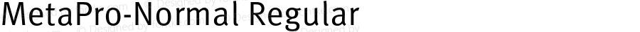 MetaPro-Normal Regular Version 7.460;PS 7.046;hotconv 1.0.38