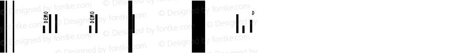 IDAutomation SUni S Regular Universal Barcode Font 7.0 2007