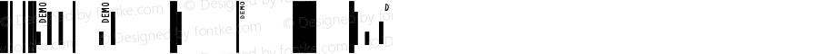 IDAutomation SUni XS Regular Universal Barcode Font 7.0 2007