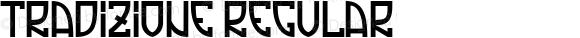 Tradizione Regular Version 1.000 2008 initial release