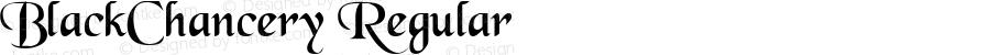 BlackChancery Regular Macromedia Fontographer 4.1.3 09.01.1999