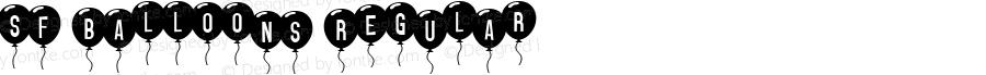 SF Balloons Regular v1.0 - 08/29/99