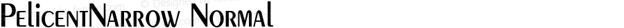 PelicentNarrow Normal 1.0 Sat Sep 10 12:53:23 1994