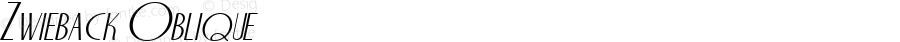 Zwieback Oblique 1.0 Sat Oct 08 18:01:32 1994