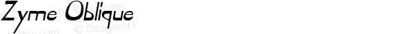 Zyme Oblique 1.0 Sun Sep 11 11:32:48 1994