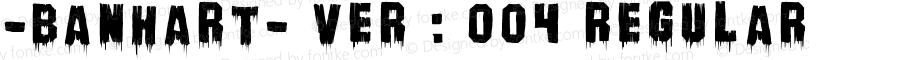 -banhart- ver : 004 Regular 004