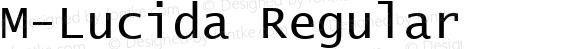 M-Lucida Regular