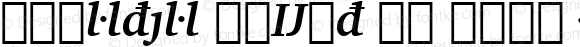 Charter BdExt BT Bold Italic Extension