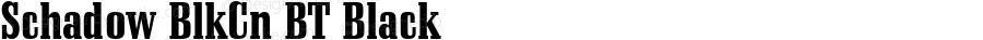 Schadow BlkCn BT Black Version 1.01 emb4-OT