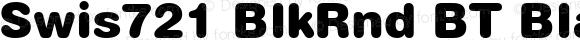 Swis721 BlkRnd BT Black Version 1.01 emb4-OT