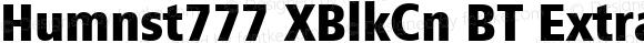 Humnst777 XBlkCn BT Extra Black