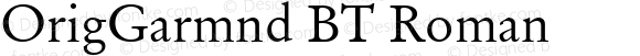 OrigGarmnd BT Roman Version 1.01 emb4-OT