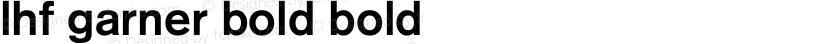 LHF Garner Bold Bold Preview Image