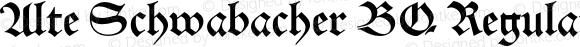 Alte Schwabacher BQ Regular 001.000