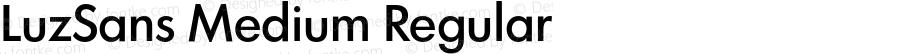 LuzSans Medium Regular 001.000