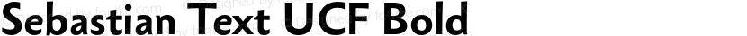 Sebastian Text UCF Bold Preview Image